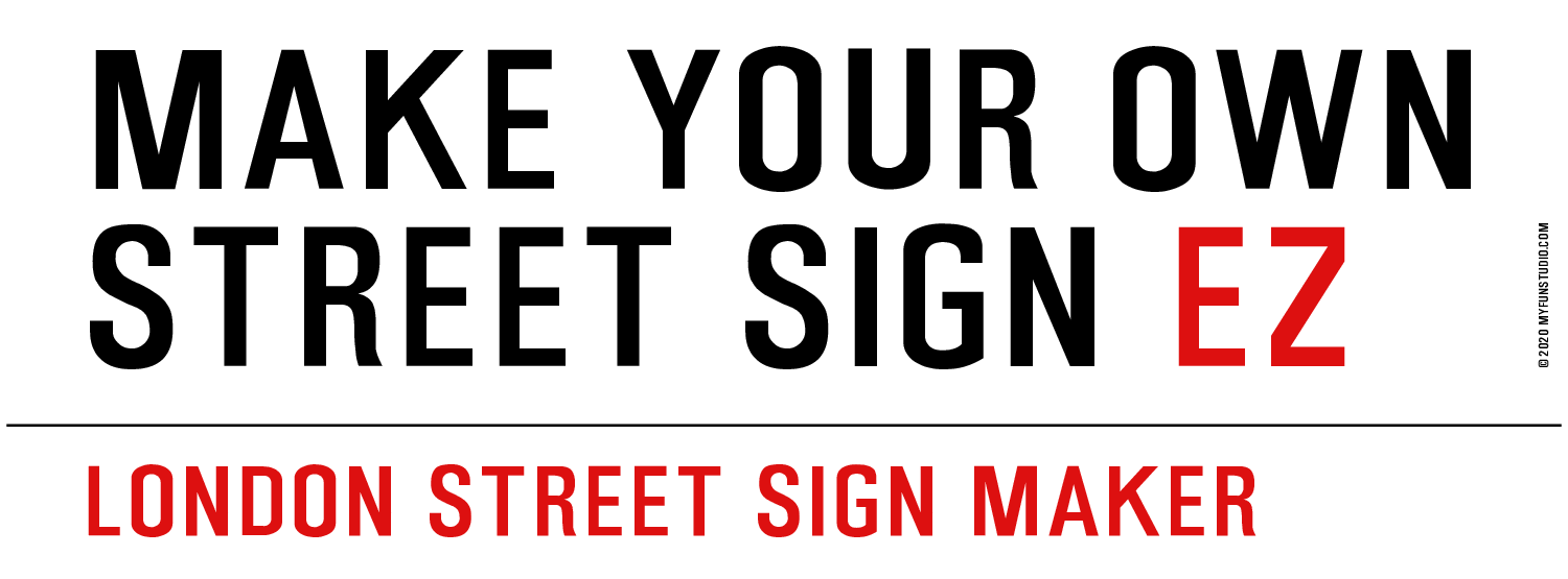 Make Your Own Street Sign