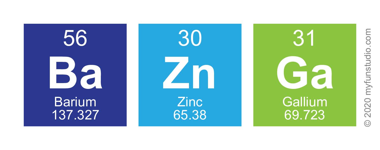 Bazinga horizontal elements of the periodic table writer my baznga gamestrikefo Image collections