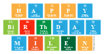 Happy Birthday Milen