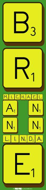 B  R Michael  A  N  N  N    Linda     E