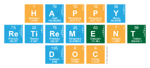 Happy retirement doc elements of the periodic table writer my happy retirement doc urtaz Choice Image