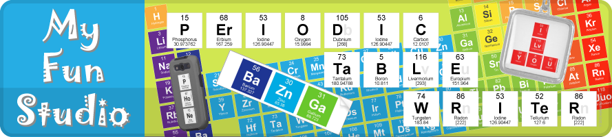 Periodic Table Writer Chemistry Elements My Fun Studio