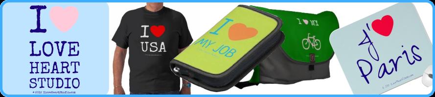I Love Heart Studio: Make I Love Logos